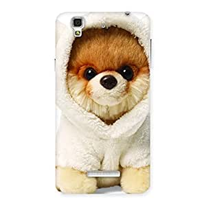 Boo Dog Multicolor Back Case Cover for YU Yureka Plus