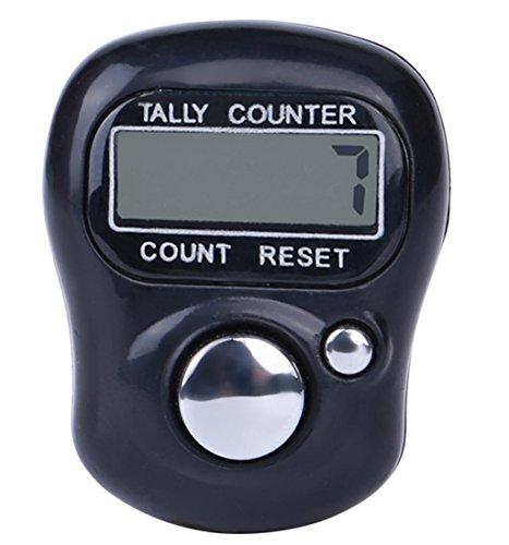 Ouneed Digit Digital LCD Elektronische Finger Hand Ring Stricken Reihe Tally Counter (random)