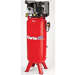 CLARKE VERTICAL AIR COMPRESSOR 230 Volt 3 HP 14 CFM 150 Litres Tank 145 psi VE15C150