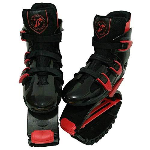 IW.HLMF Sprung Schuhe Unisex Fitness Übung Rebound Schuhe Bounce Schuhe,A,L