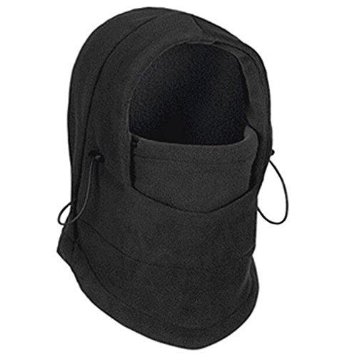 hibote Winter Warme Fleece Beanies Hüte für Männer Schädel Bandana Hals Balaclava Ski Snowboard Gesichtsmaske (Helm Schädel Kappe)