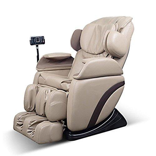 Home Deluxe - Massagesessel - Siesta beige - inkl. komplettem Zubehör