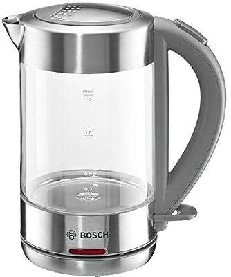 Bosch TWK7090 Bouilloire 2200 W Verre/Acier Inox