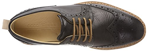 Ecco Herren Vitrus I Oxfords Schwarz (Black)