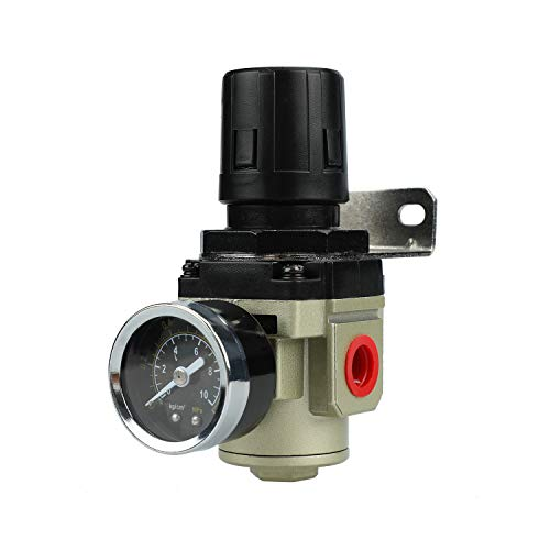 Hochwertige Druckminderer Druckregler für Druckluft Werkzeug Kompressor, 3/8 Zoll