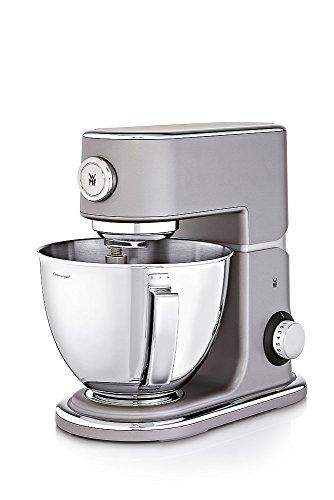 WMF Profi Plus Küchenmaschine, 1000 W, 5 l, Planetarisches Rührwerk, 8 Geschwindigkeitsstufen, steel grey