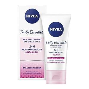 Nivea visage – Crema de día hidratante, pack de 3 (3x 50 ml)