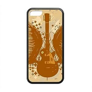Guitare classique art Design Coque rigide pour iphone 5c