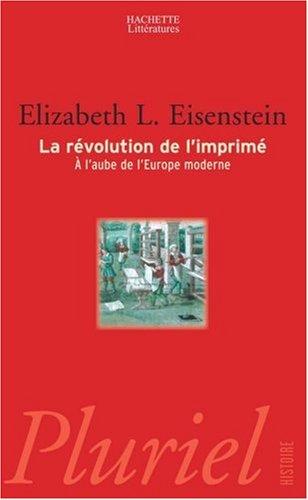 La Révolution de l'imprimé