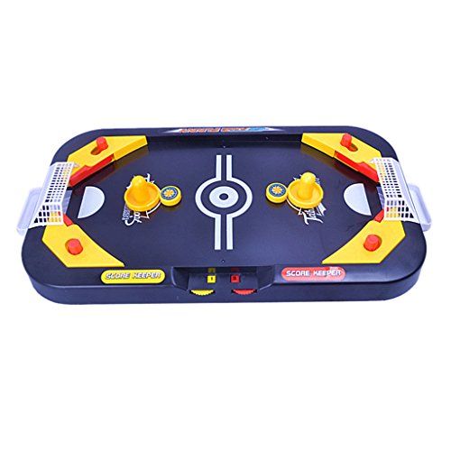 Preisvergleich Produktbild 2in 1 Desktop Puck Kampf Kinder Spielen Spielzeug Interaktive Airhockey Tisch Spiel