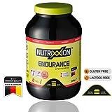 NUTRIXXION ENERGIE Drink ENDURANCE mit BCAA, Vitaminen & Mineralien Set 2.2kg Dose, Geschmack RedFruit