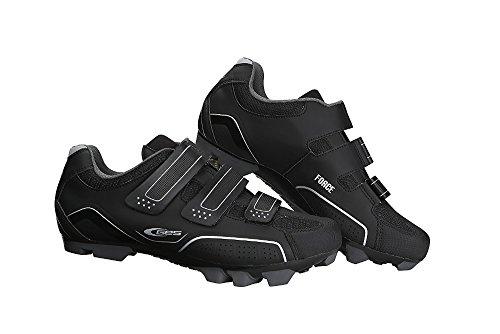 GES Z300X4100000 Zapatillas de Ciclismo, Hombre, Negro, 41.0