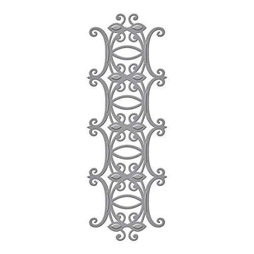Toskana-streifen (Unbekannt Spellbinders Shapeabilities Tuscany Streifen sterben, Metall, braun)