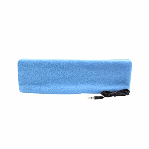 örer mit Stirnband, ultradünne Ohrhörer, besonders bequem, geeignet zum Einschlafen, für Flugreisen, die Arbeit, Sport oder bei Schlafproblemen himmelblau ()