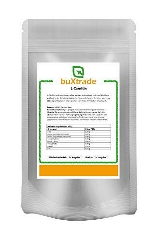 500 g L-Carnitin Base 100{04c2ea64aaed453acbe29aebcf79978ffcd3818df4008ee2c54fec6f82851771} reines Pulver Aminosäure Energie Stoffwechsel