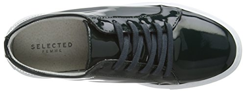 SELECTED FEMME Sfsereena Damen Sneakers Grün (Dark Green)