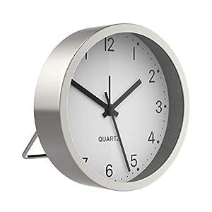 BonVivo Good Morning Alarm Clock, Analoger Wecker Batteriebetrieben, Moderner Uhr Wecker Analog & Lautlos, Quarzwecker…