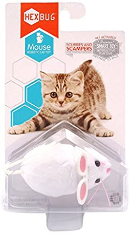Hexbug 503503 - Mouse Cat Toy weiߟ, Elektronisches Spielzeug