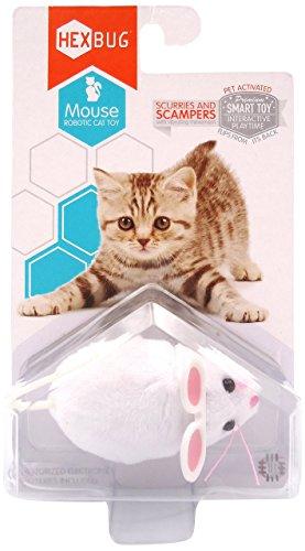 Hexbug 503503 - Mouse Cat Toy weiߟ, Elektronisches Spielzeug (Nano Für Die Füße)