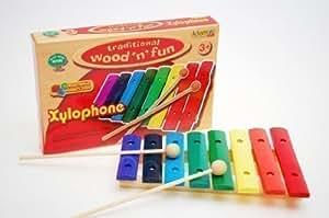 Xylophone Coloré Enfant Jouet Bois Musical