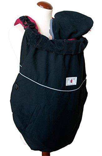 Manduca Deluxe FLeX - Cobertor para portabebés, color negro