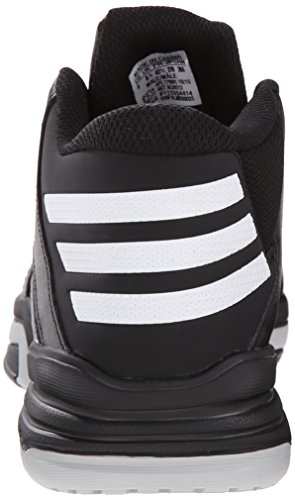 Adidas Performance Erster Schritt Basketballschuh, schwarz / weiÃ? / schwarz, 6.5 M Us Black/White/Silver