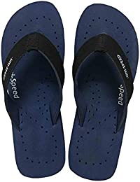 eff6732751a32a UNISPEED Women s Diabetic Care + Super Soft Flip-Flops (Navy Orthopedic  Slippers)