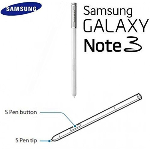 Original Touch Stylus S Pen Replacement For Samsung Galaxy Note 3 N9000 N900 white ~ USA  available at amazon for Rs.5600