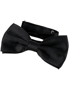 DonDon Pajarita Hombre elegante con gancho con nudo y ajustable disponible en diferentes colores