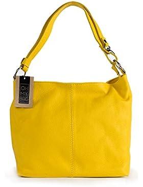 OH MY BAG Handtasche aus leder, damen, schultertaschen und umhängetaschen Modell KUTA