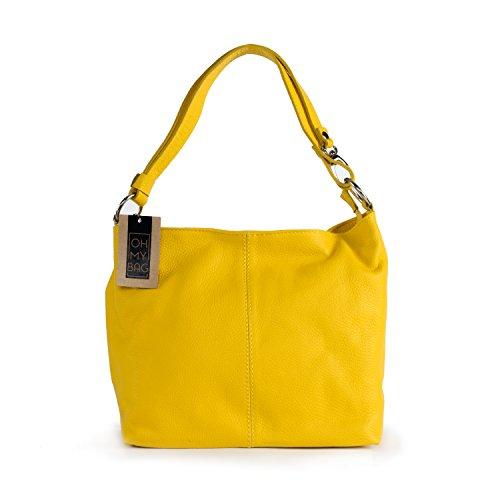 OH MY BAG Sac à main cuir femme porté main et épaule Modèle KUTA Nouvelle collection - SOLDES