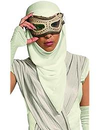 Rubie 's oficial adultos de oficial de Star Wars rey ojo máscara con capucha – Un tamaño