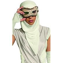 Rubie 's oficial adultos de oficial de Star Wars rey ojo máscara con capucha–Un tamaño