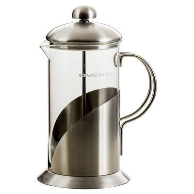 Ovente FSL34S Series Stainless Steel French Coffee