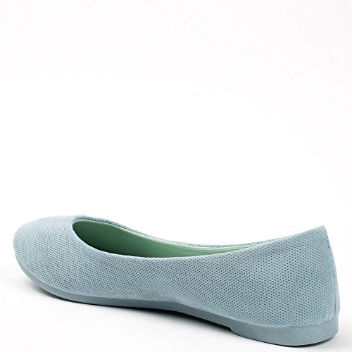 Ideal Shoes ,  Ballerine donna Azzurro