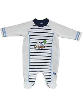 Schnizler Unisex Baby Schlafstrampler Interlock Schlafanzug Friends