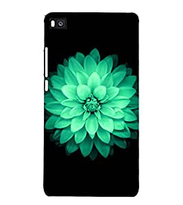 printtech Nature Flower Macro Back Case Cover for Honor P8