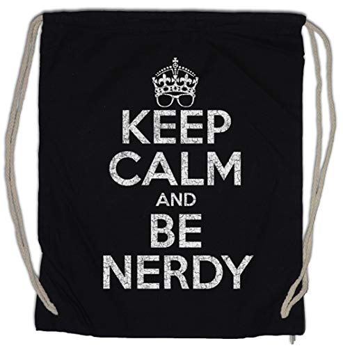 Urban Backwoods Keep Calm and Be Nerdy Turnbeutel Sporttasche