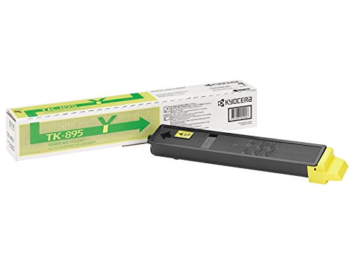 Kyocera Laser Toner Cartridge Page Life 6000pp Yellow - TK-895Y lowest price