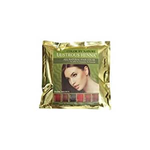 Lustrous Henna Dark Brown 100 Grams