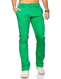 Rerock Herren Chino Hose Pants Slim Fit stretch Sommerhose 3341