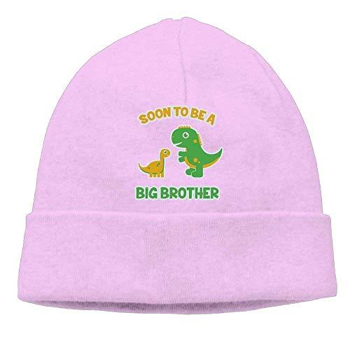 Preisvergleich Produktbild POWBU Momens Soon to Be A Big Brother Gift Idea Elastic Skiing Black Beanies Watch Cap