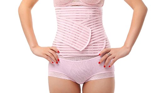 TININNA Atmungsaktiv Elastisch Bauchweg Gürtel Bauchband Gurt Nach Geburt Taillenmieder Taillenformer Schlank Bauchweggürtel Band Bauchband M (Spandex Taillenkorsett)
