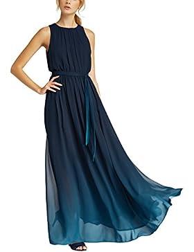 APART Fashion Glamour: Shades of Blue-Midnightblue-Bleu-Teal, Vestito Elegante Donna