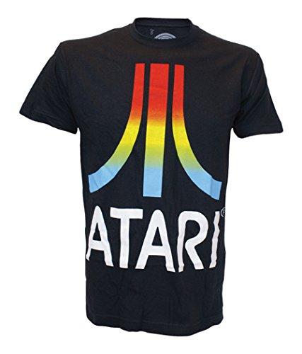 atari-t-shirt-black-gardient-logo-mens-m