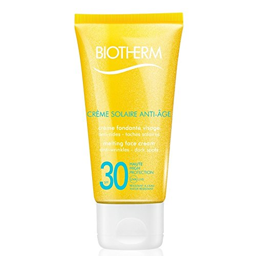 Biotherm Creme Solaire Anti-age femme/women, Melting face cream LSF 30, 1er Pack (1 x 50 g)