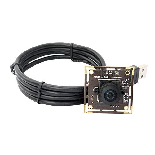 ELP 2MP Full HD USB Kamera 180 Grad Fisheye Objektiv Niedrige Beleuchtung Sony IMX322 Color Sensor 1080P Weitwinkel Webcam -