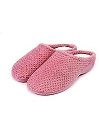 1901e51e08638 Amazon.fr   chaussons isotoner femme - Depuis 3 mois   Chaussures et ...