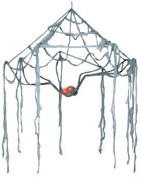 Morris Spider Himmel Web Augen Licht 137,2cm Halloween Prop (Halloween Leuchten Spider Web)