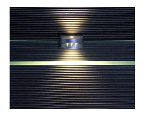 LED Glaskantenbeleuchtung / 4-er Komplettset / Glasbodenbeleuchtung / 2295-4 / Clip / Lichtfarbe warm weiß / Vitrinenbeleuchtung / Glasplattenbeleuchtung -